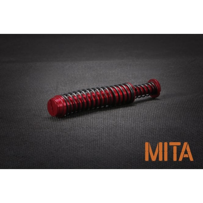 M.I.T. Airsoft Aluminium Recoil Spring Guide for VFC Glock 17 Gen4 - Red
