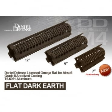 Madbull Daniel Defense 7 inch Omega Rail Dark Earth