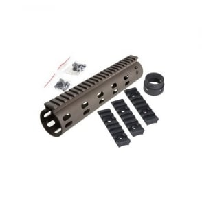 "Daniel Defense Licensed Modular Float Rail 9"" (Dark Earth)"
