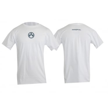 Magpul Centre Icon White Short Sleeved T-Shirt