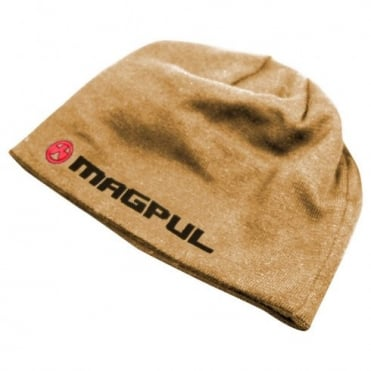 Magpul Logotext Skull Beanie Coyote