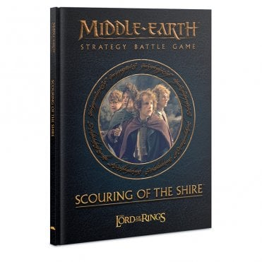 Middle Earth / Lord of the Rings : Scouring of the Shire Hardback Book Expansion