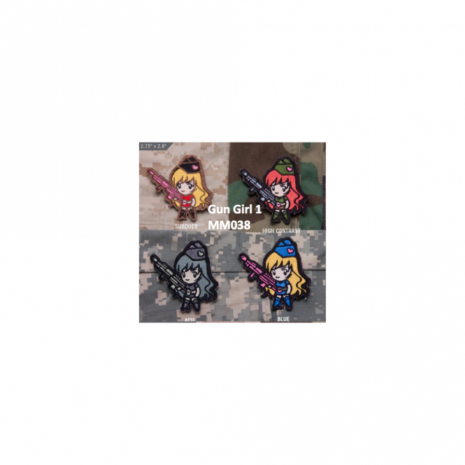 Mil-Spec Monkey MSM Gun Girl 1 - High Contrast