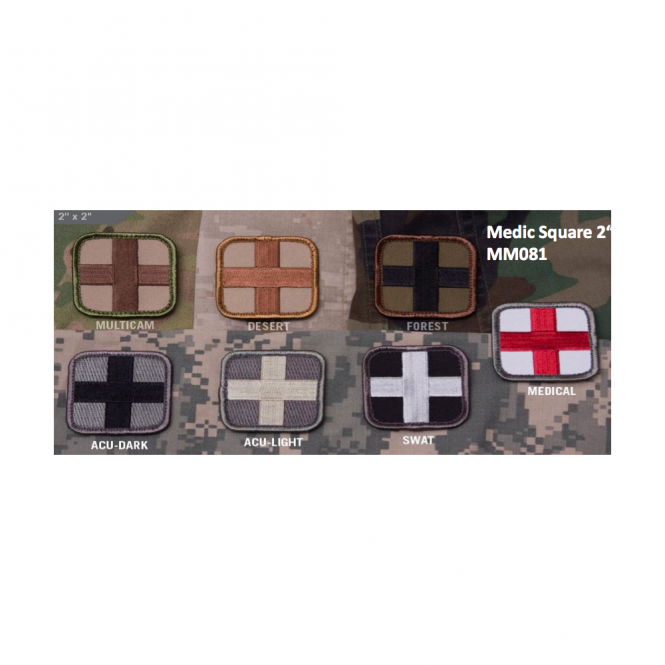 "Mil-Spec Monkey MSM Medic Square 2"" - Multicam"