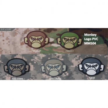 MSM Monkey Logo PVC - Forest
