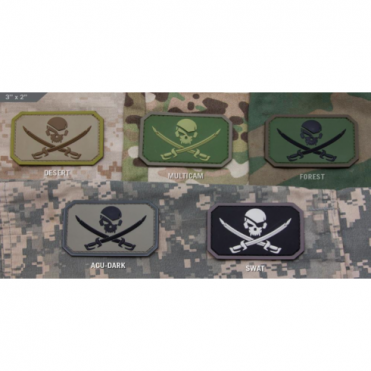 MSM Pirate Skull PVC - Multicam
