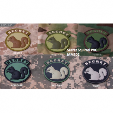 MSM Secret Squirrel PVC - Multicam