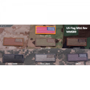 MSM US Flag Mini Rev - Multicam