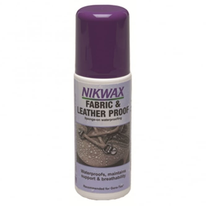Highlander Outdoor Nikwax Fabric / Leather Proofing 125ml