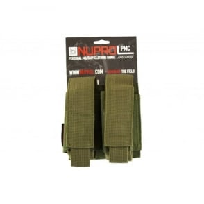 NP PMC Double 40MM Pouch - Green