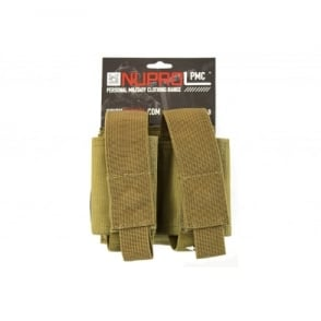 NP PMC Double 40MM Pouch - Tan
