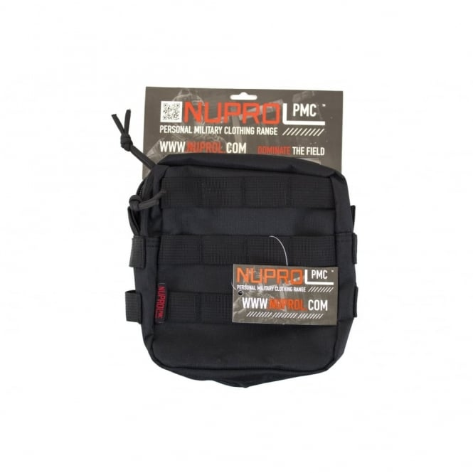 Nuprol NP PMC Medium Zipped Util Pouch - Black