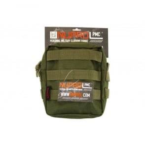 NP PMC Medium Zipped Util Pouch-Green
