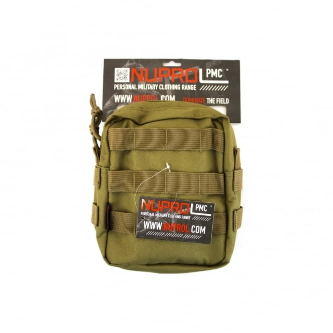 Nuprol NP PMC Medium Zipped Util Pouch - Tan
