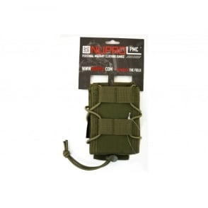 NP PMC Rifle Open Top Pouch-Green