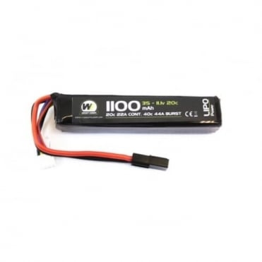 Nuprol 11.1v 1100mAh 20c battery