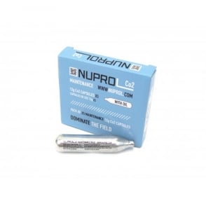 Nuprol Co2 12g maintenance capsules 5pk