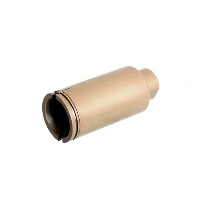 Nuprol Copperhead Flash Hider 14mm CCW-Tan