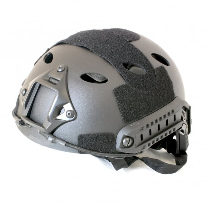 Nuprol Fast Railed Helmet - Black