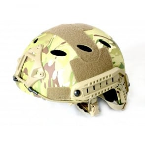 Nuprol Fast Railed Helmet - Multicam