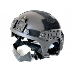 Nuprol IBH Railed Helmet - Black