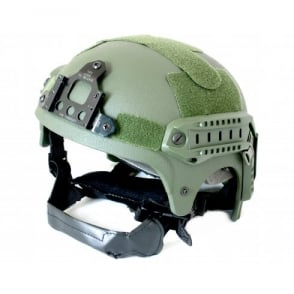 Nuprol IBH Railed Helmet - Green