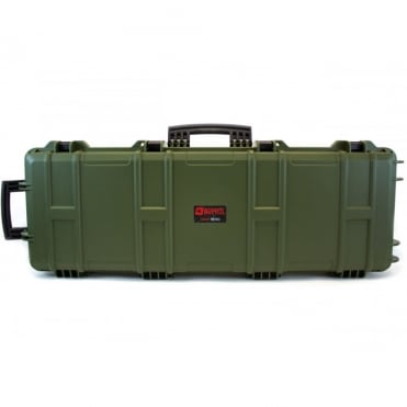 Nuprol Large Rifle Hard Case with Pick and Pluck Foam - Green