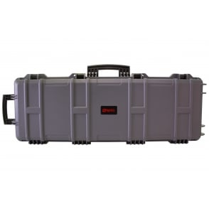 Nuprol Large Rifle Hard Case with Pick and Pluck Foam - Grey