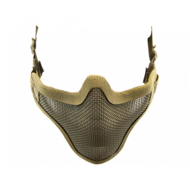 Nuprol Mesh Lower Face Shield V1 - TAN