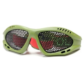Nuprol Mesh Shades Eye Protection Green