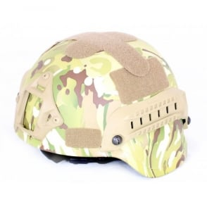 Nuprol MICH 2000 Railed Helmet - Multicam