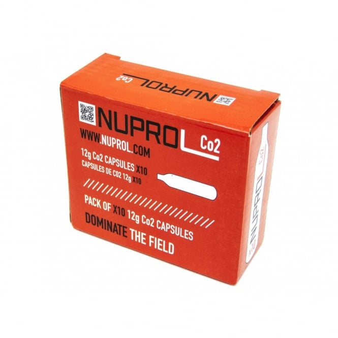 Nuprol NP CO2 12G CAPSULES (10PK)