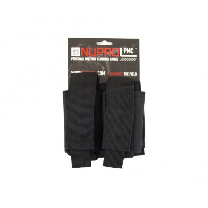 Nuprol NP PMC Double 40MM Pouch - Black