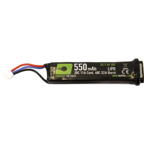 Nuprol NP Power 550mAh 7.4V LiPo Battery