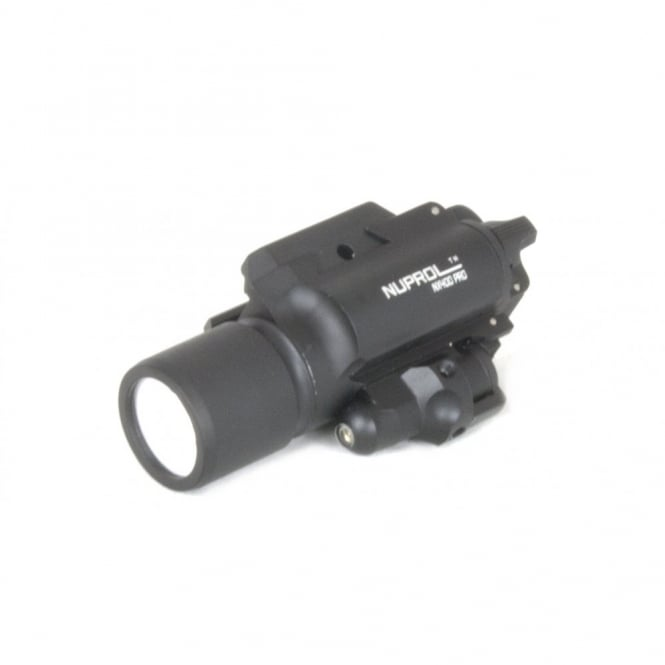 Nuprol NX400 Pro Flashlight & Laser