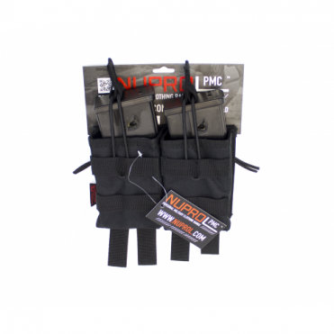 PMC G36 Double Open Mag Pouch - Black