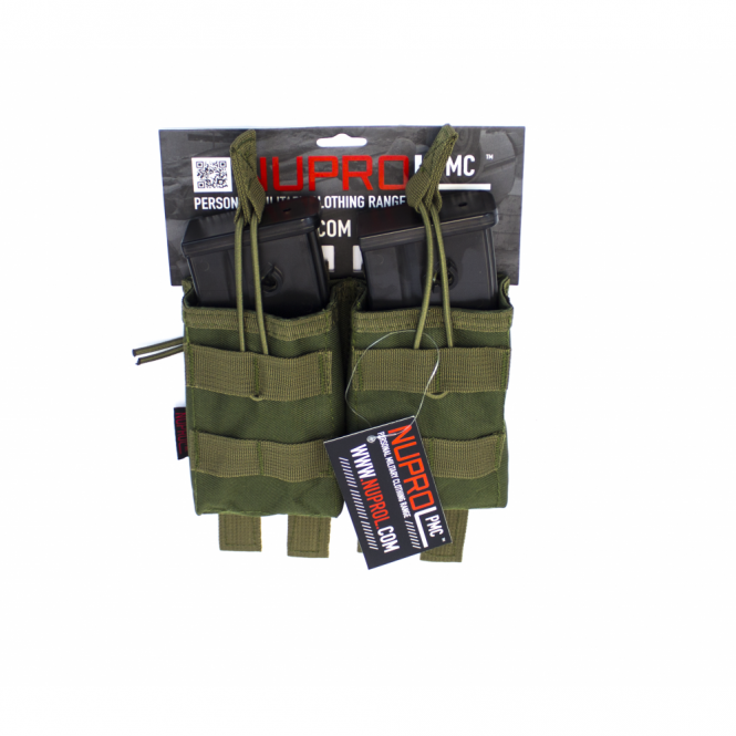 Nuprol PMC G36 Double Open Mag Pouch - Green