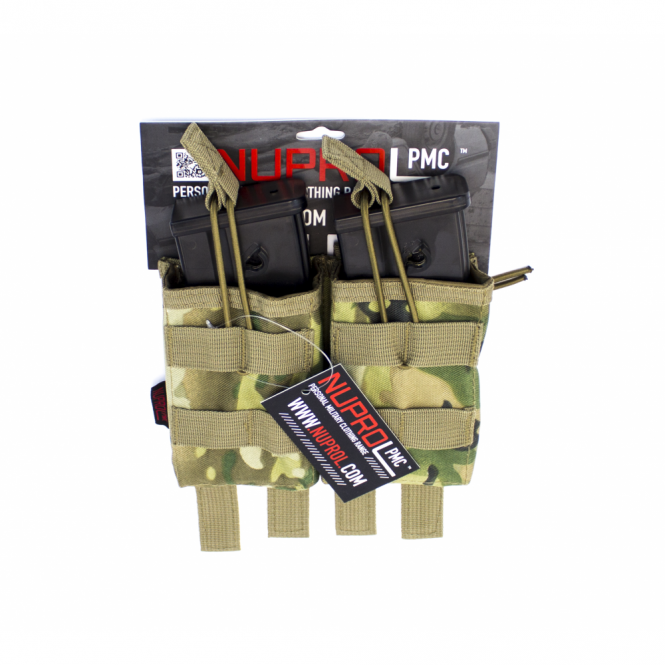 Nuprol PMC G36 Double Open Mag Pouch - NP Camo