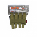 Nuprol PMC M4 Double Mag Pouch - Green