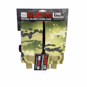 PMC M4 Double Mag Pouch - NP Camo