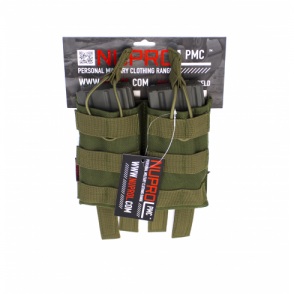 PMC M4 Double Open Mag Pouch - Green