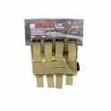 Nuprol PMC M4 Double Open Mag Pouch - NP Camo