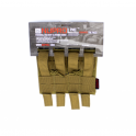 Nuprol PMC M4 Double Open Mag Pouch - Tan