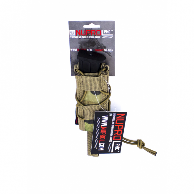 Nuprol PMC Pistol Open Top Pouch - NP Camo