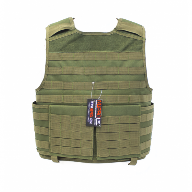 Nuprol PMC Plate Carrier - Green
