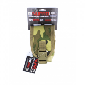 PMC Radio Pouch - NP Camo