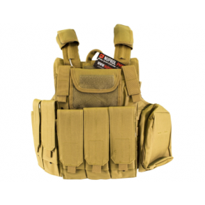 Nuprol RTG Tactical Vest - Tan