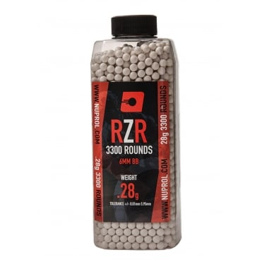Nuprol RZR Precision BBs - 0.28g (3300) Box of 20