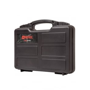 Nuprol Small Hard Case with Pick and Pluck Foam - Black