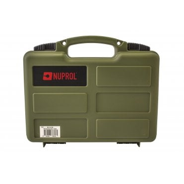 Nuprol Small Hard Case with Pick and Pluck Foam - Green